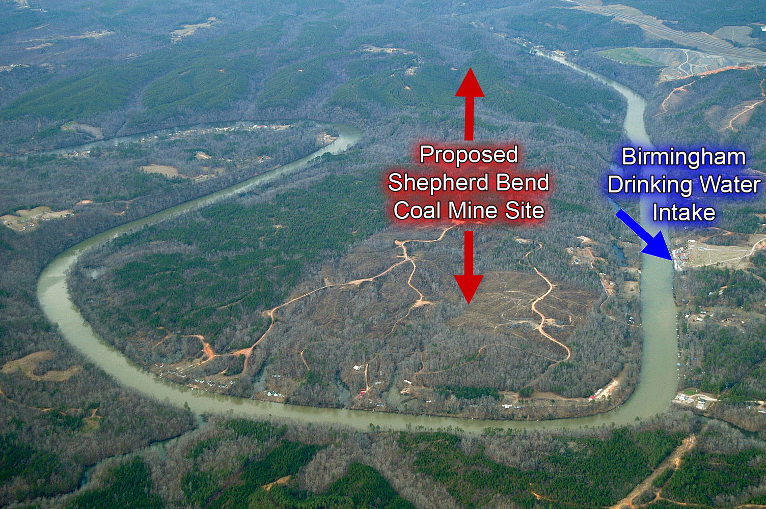 Shepard's Bend Mine on the Black Warrior River